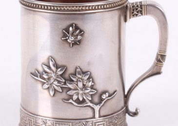 1020011: A 19th Century Tiffany and Co. Sterling Mug, Realized $2,200